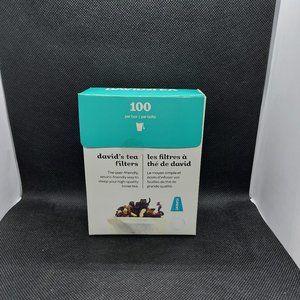 DAVIDsTEA Filters 100 Pack - Special Offer Inside